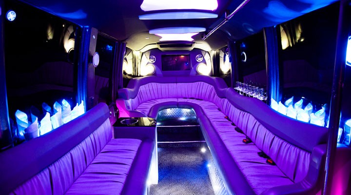 internal limo purple